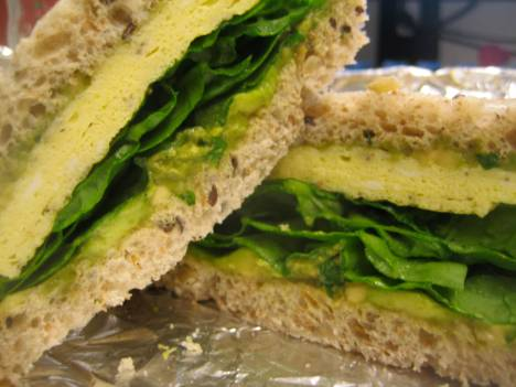 Egg Sandwich, Southside CSA style.