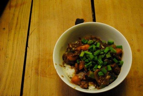 Beef & Veg Curry by Yolim