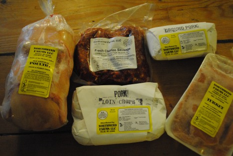 January's Half Meat Share Haul!!
