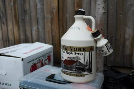 Order local maple syrup