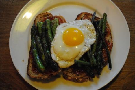 egg asparagus