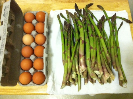 Asparagus Egg photo 1 BY sTEPHANIE j